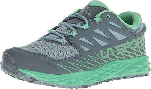 La Sportiva Women's Lycan Running Shoe, Stone Blue/Jadegreen, 37