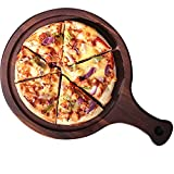Tabla De Cortar De Paleta con Mango Y Ranura para Hornear Pizza, Cortar Pan, Frutas, Verduras, Queso Y Tabla para Servir (Size : 35.5X24X2CM)