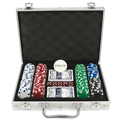 AK Sport–Set da Poker in Valigetta di Alluminio