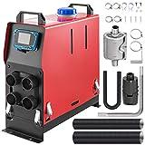 Mophorn Calentador de Aire Diesel para Camiones RV 12V 5KW(Con Pantalla LCD)