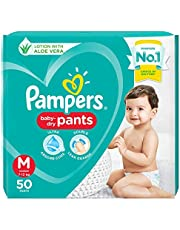 Pampers All round Protection Pants - Medium & Large Diapers