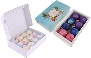 Prettyia 20Pieces Women Scented Bubble Bath Salt Essential Balls Set Bath Fizzies
