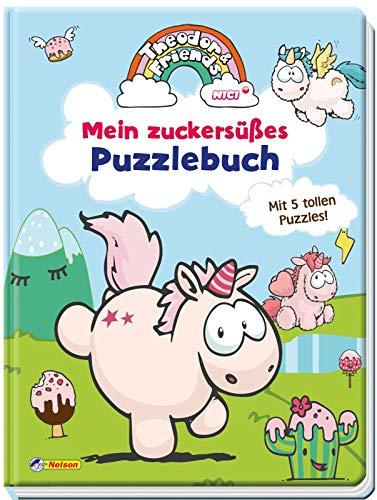 Theodor and Friends: Theodor and Friends: Mein zuckersüßes Puzzlebuch