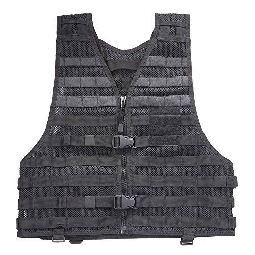 5.11 Tactical Gilet Lbe Homme, Noir, FR : M-L (Taille Fabricant : Regular)