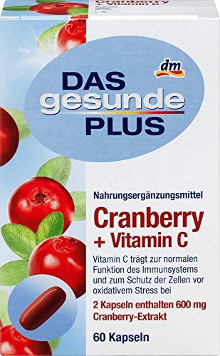DAS gesunde PLUS Cranberry + Vitamin C, 1 x 60 St Nahrungsergänzungsmittel