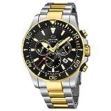 JAGUAR, J862 / 2 Ejecutivo, Cronógrafo de reloj Fabricado en Suiza para hombres, Material...