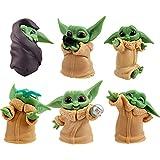 Mini Figuras Tartas Decoración, for Baby Yoda Caricatura Cake Topper, LKNBIF decoraciones de mesa , ...