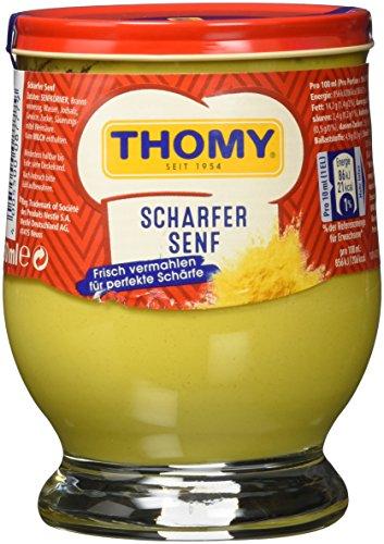 Thomy scharfer Senf, 6er Pack (6 x 250 ml)