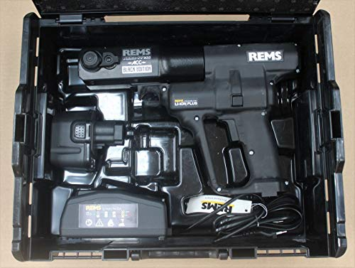 REMS Pressmaschine Akku-Press ACC Li-Ion Black Nr. 571019 L-BOXX Sanitär Heizung