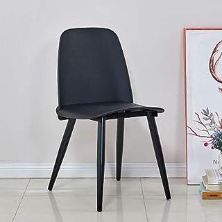 BTTNW Sillas De Cocina Sillas y café for el hogar Casual de Estar y Comedor comedores Sillas de Comedor (Color : Three, Size : 51x44x80cm)