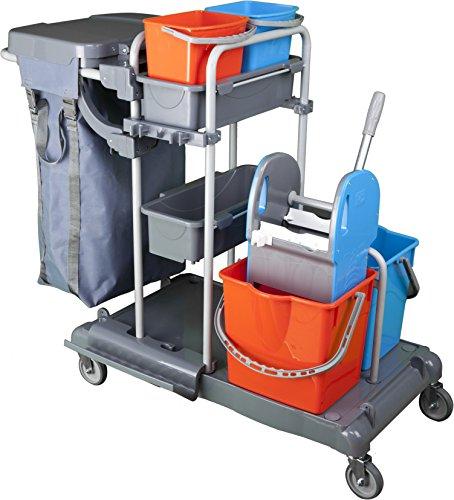 BELLANET Carro de Limpieza Profesional para hostelería y Limpieza de Edificios