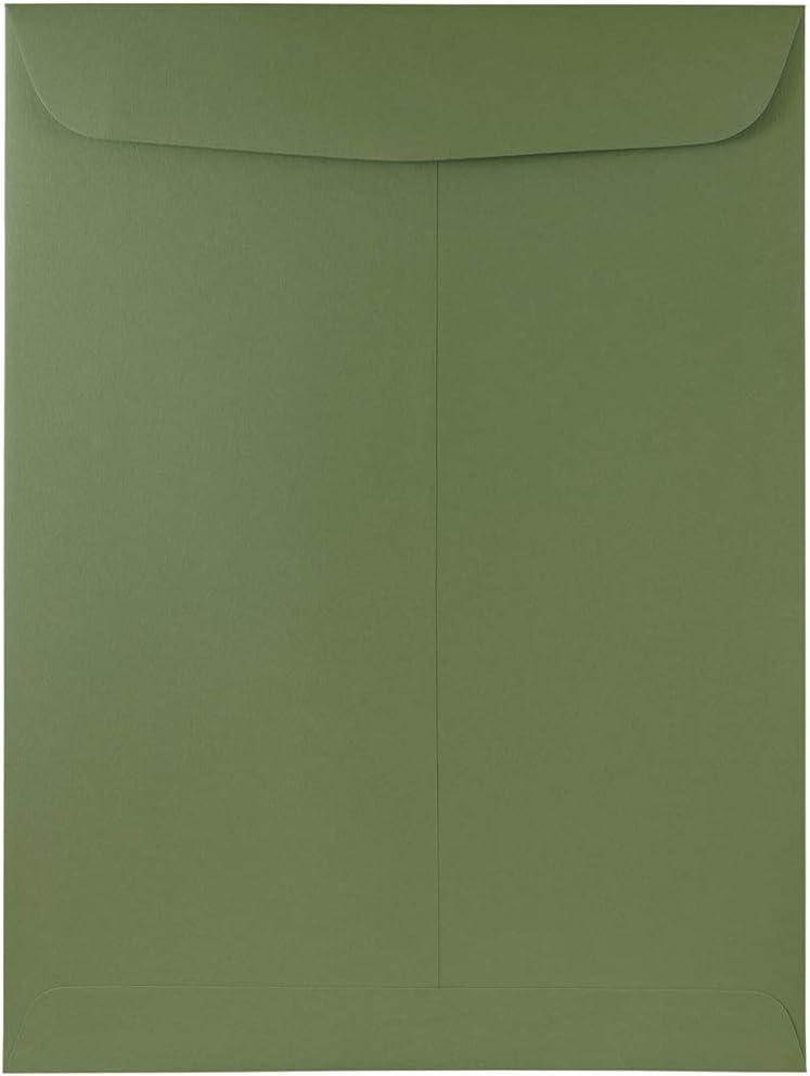 JAM Lowest price challenge PAPER 9 Branded goods x 12 Open End 50 Olive Premium Envelopes - Catalog