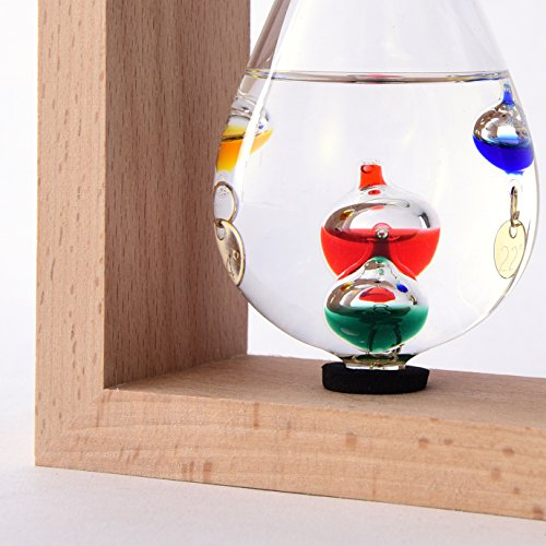 茶谷産業温度計・湿度計ベージュ高さ14.5×幅17.5×奥行6cm