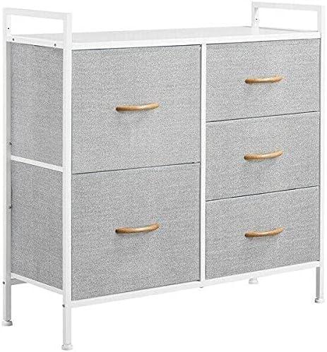 5 Drawers Dresser Storage Organizer Max 55% OFF Chest Clo Bedroom Unit Tower Tucson Mall