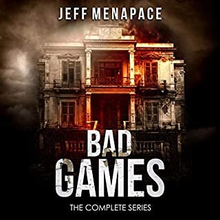 Bad Games: The Complete Series audiobook cover art