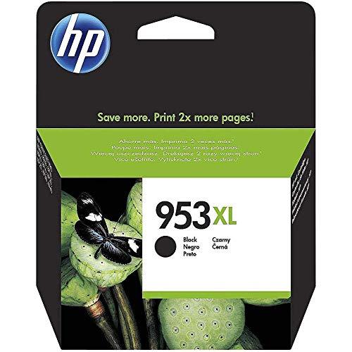 HP 953XL Schwarz Original Druckerpatrone mit hoher Reichweite für HP Officejet Pro 7720, 7730, 7740, 8210, 8710, 8715, 8720, 8725, 8730, 8740