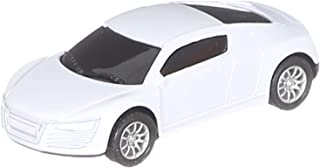 Die Cast Racing Car for Boys - White