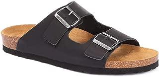 Jones Bootmaker Mens Hilston Dual Strap Leather Sandals Nubuck Summer Shoes