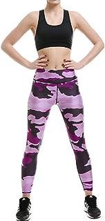 Honghuヒョウプリントスポーツレギンス女性フィットネス高弾性スキニーパンツフィットネス服