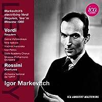 イーゴリ・マルケヴィチ指揮 ヴェルディ:レクイエム/ロッシーニ:序曲集