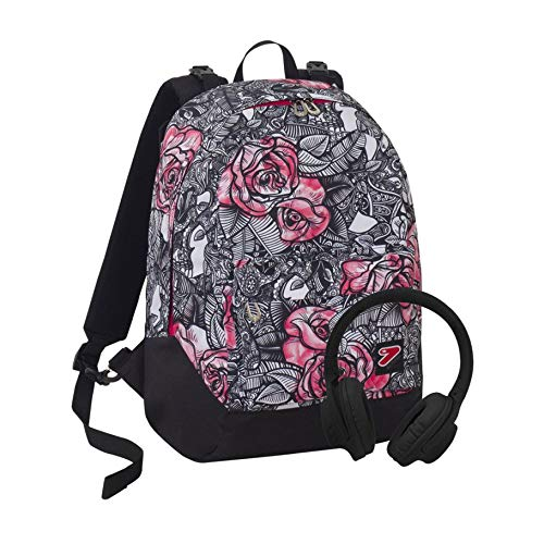 Backpack reversible Seven The Double Rouge