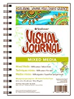 "Strathmore Visual Journal Spiral Bound 5.5""X8""-Mixed Media Vellum (並行輸入品)"
