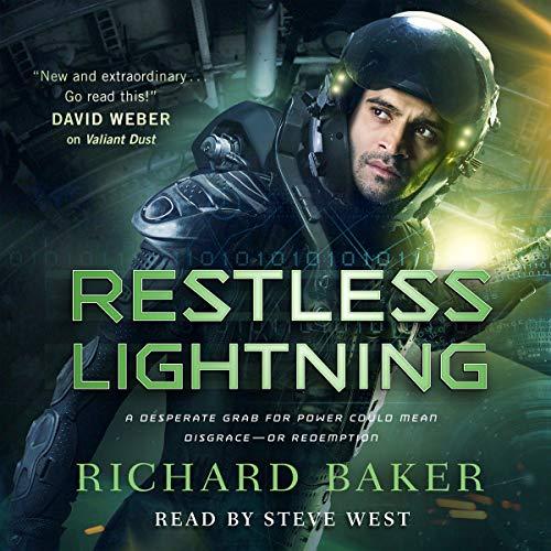 Restless Lightning audiobook cover art
