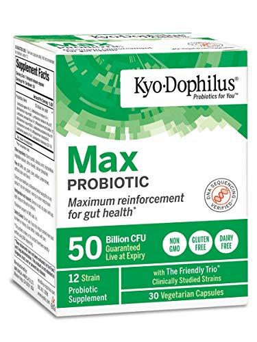 Kyolic Kyo-Dophilus Max Probiotic (50 Billion CFU) 30 vcaps