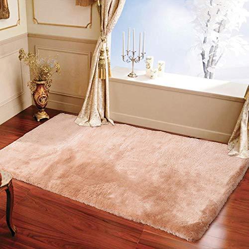 Alfombra para mesa de café, salón, dormitorio, sofá, alfombra de viento, monocromo, 100 x 150 cm
