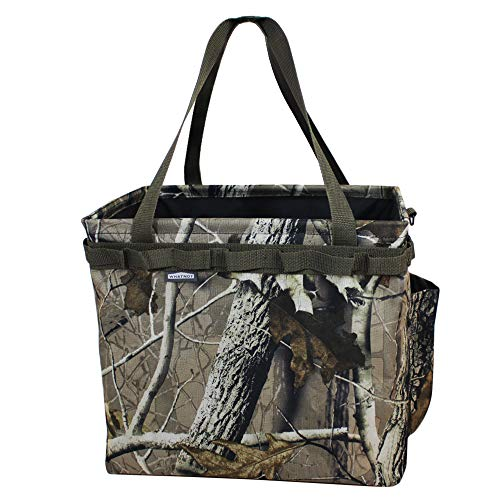 WHATNOT OB-01-HC Storage Container, Camouflage, Bucket, Tool Box, One-touch Bucket, Outdoor, Fishing, Firewood Case, Storage Bag, Portable