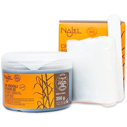 Najel Orientalisches BIO Epilierwachs aus Zucker 350 g