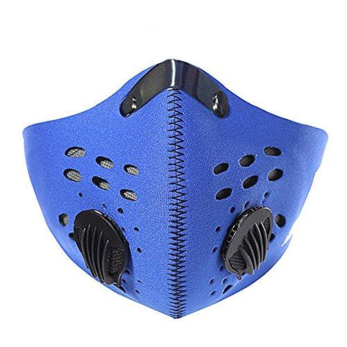 Staubmaske,Vdeale Aktivkohle Staubmaske Fitness Maske Gesichtsmaske Allergie Mask