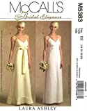McCall's 5383 Sewing Pattern Misses Bridal or Speical Occaision or Evening Gown makes sizes 14-16-18-20
