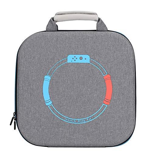 SOONHUA Hochleistungsaluminiumlagertragetasche für Ring Fit Zubehör Tasche Tragbare Multi- Zweck Wasserdichte Schutz Tasche Spiel Lagerung Hard Tasche für Schalter