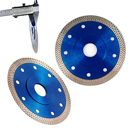 SIMNO JIAHONG 1pcs Corte de Sierra de Diamante 4.5inch Disco de 1,2 mm Dejar Sierra de Diamante Fino estupendo Disco for Corte de cerámica de Porcelana Azulejos Hoja de Sierra, una