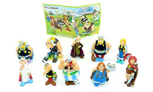 Kinder Überraschung, Juego de Astérix y los vikingos con BPZ (juego completo).
