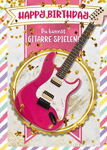 bentino Geburtstagskarte für Mädchen mit