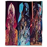 Aryago - Manta de franela para todas las estaciones (180 x 230 cm), diseño de Star Wars