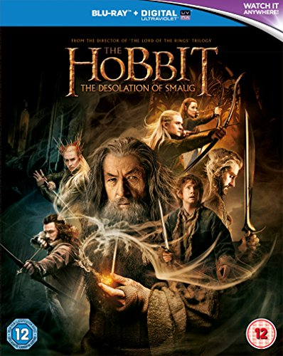 The Hobbit: The Desolation Of Smaug [Blu-ray] [2013] [Region Free]