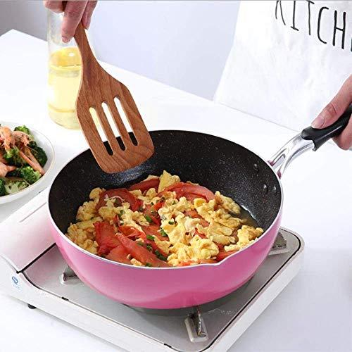 1yess 26 CM freidora de Tres propósito Olla Olla de Sopa antiadherentes Cocina de inducción Olla de Cocina en General cocinar Suministros