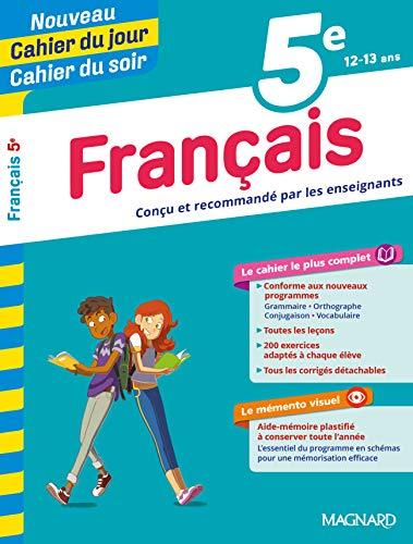 5E FRANCAIS CAHIER DU JOUR CAHIER DU SOI
