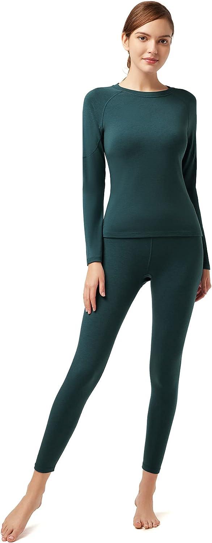 SIORO Dralon Boston Mall Womens Thermal Underwear Self Ra Breathable Max 48% OFF Heating