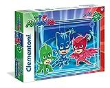 Clementoni Masks PJ MARKS Supercolor Puzzle Maxi, 104 Pezzi, 23989...