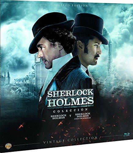 Sherlock Holmes Colección Vintage (Funda Vinilo) Blu-Ray [Blu-ray]