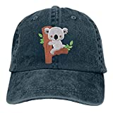 huatongxin Gorra de béisbol Ajustable Vintage de ratón de Dibujos Animados Unisex Sombrero de papá de Mezclilla Sombrero de Vaquero Sombrero de Camionero