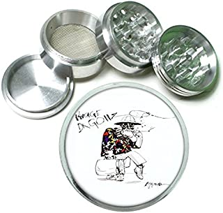 Fear Loathing Hunter Thompson 4Pc Aluminum Grinder D-328