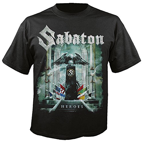 Sabaton - Heroes - T-Shirt Größe L
