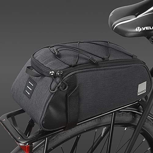 HOMPER Fahrradtasche Satteltasche Gepäcktasche Gepäckträger Tasche Rucksack Seitentasche 7L Mountain Road MTB Fahrrad Radfahren Rücksitztasche