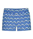Steiff Jungen Badehose Schwimmshorts, Blau (Marina 3056), 92