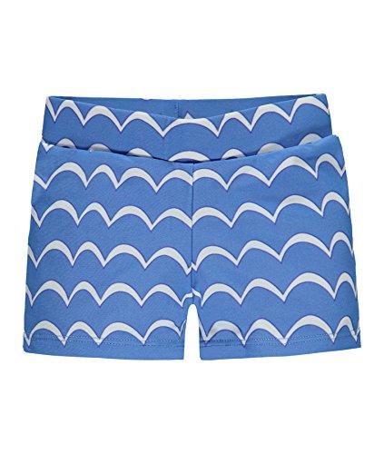 Steiff Schwimmshorts Maillot, Bleu (Marina 3056), 92 cm Fille